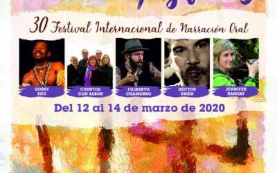 30º Festival de Narración Oral en Agüimes, Gran Canaria